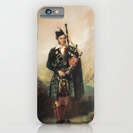 Angus Mackay-  Piper To Queen Victoria iPhone Case