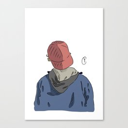 Isak Valtersen - Canvas Print