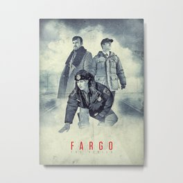 Fargo - The Series Metal Print