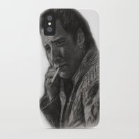 nicolas cage iPhone & iPod Cases featuring WILD AT HEART - NICOLAS CAGE by William Wong