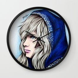 Jacqueline Frost Wall Clock