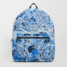 Hamburg Germany City Map Backpack
