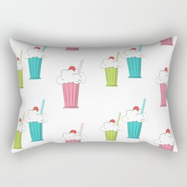 milkshake cocktail Rectangular Pillow