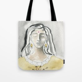 Mind and Heart Aligned Tote Bag