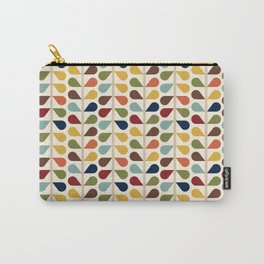 Mid Century Modern RetroTeardrops Carry-All Pouch