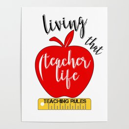 Teachers Posters | Society6