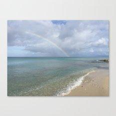 Rainbow in St. Croix Canvas Print