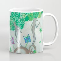 surrealism Mugs featuring Tree Surrealism by Design SNS - Sinais Velasco