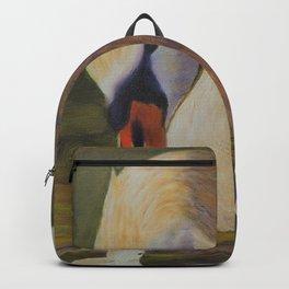 Calm of swan | Le calme du cygne Backpack