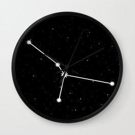 Cancer Star Sign Night Sky Wall Clock