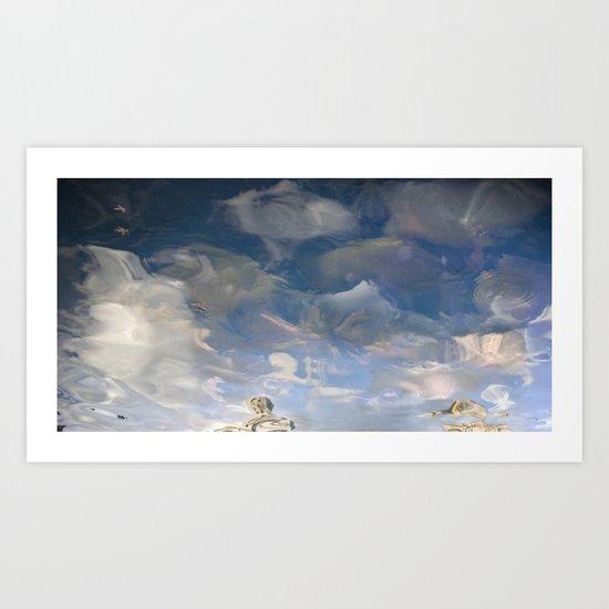Semiotic Sky  Art Print