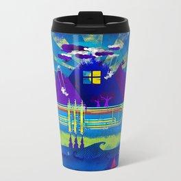 Kind of Blue Metal Travel Mug