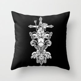 FAITH IN NOTHING Throw Pillow