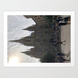 iglesia numb Art Print