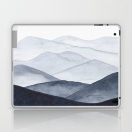 Watercolor Mountains Laptop & iPad Skin