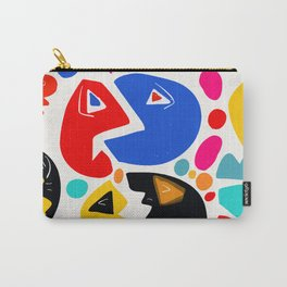 At the king's party abstract pattern kid art Carry-All Pouch