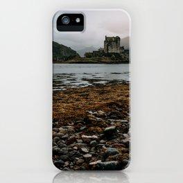 Eliean Donan Castle Scotland nature isle of skye scottish castles iPhone Case