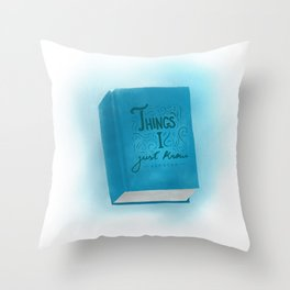 Intuition. Throw Pillow