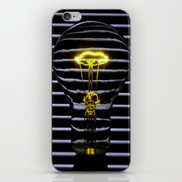 Yellow Bulb iPhone Skin