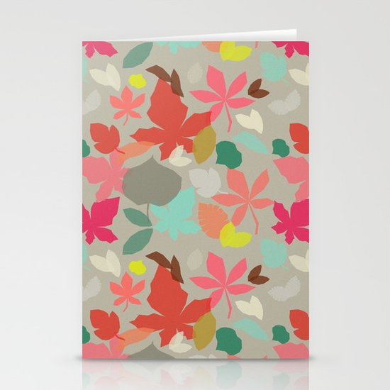 spring and fall Stationery Cards