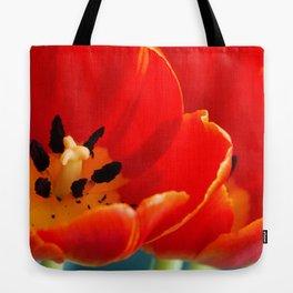 Red Dutch Tulip Tote Bag