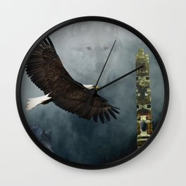 Sacred Places Wall Clock