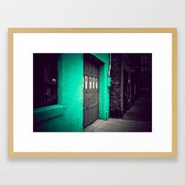 The Hidden Garage Framed Art Print