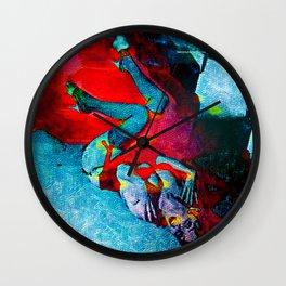 Fiery Desire Wall Clock
