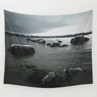 rocks Wall Tapestries featuring Rocks by Bizzack Photography