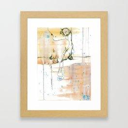 The Boogy Man Framed Art Print