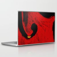 violin Laptop & iPad Skins featuring violin by laika in cosmos