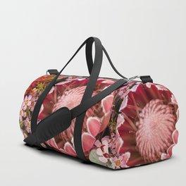 Macro Protea Duffle Bag