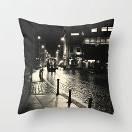 Night Train v2 Throw Pillow