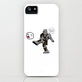Piss off, Ghost! iPhone Case