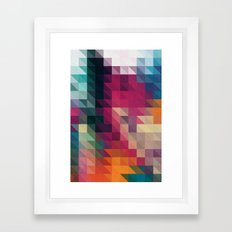 The Future 01. Framed Art Print