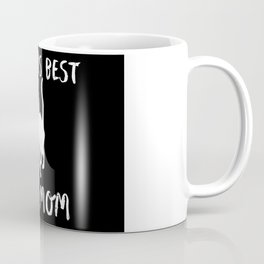 World's Best Cat Mom Cute Animal Typography Art Coffee Mug