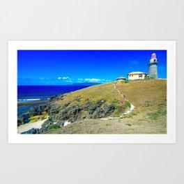 Basco Lighthouse Batanes Philippines Ultra HD Art Print
