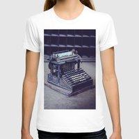 typewriter T-shirts featuring Typewriter by Kerri Ann Crau