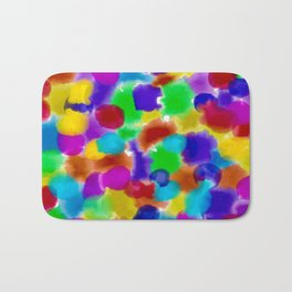 Live your life with pride Bath Mat