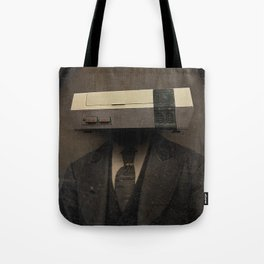 Faces of the Past: Console Tote Bag