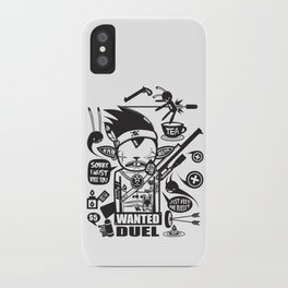 SORRY I MUST KILL YOU ! - DUEL iPhone Case