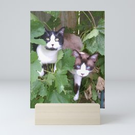 Brothers Just Hanging Out Mini Art Print