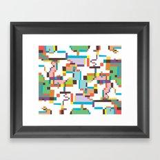 Reflections 3 Framed Art Print