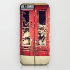 Red door iPhone 6s Slim Case