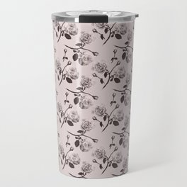Romantic roses - Sepia Travel Mug