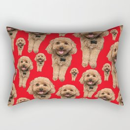 so many ollies! Rectangular Pillow
