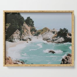 big sur / california Serving Tray