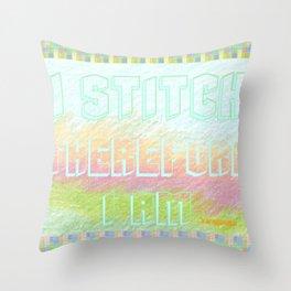 """"""" Stitch """" Throw Pillow"""