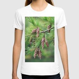 Pine cones T-shirt