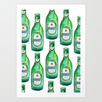 Birthday Beer Art Print